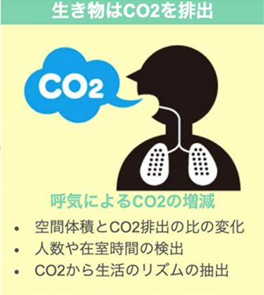 生き物はCO2を排出